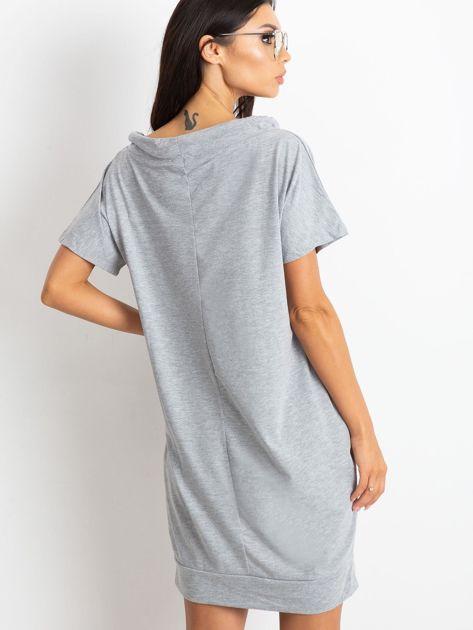 Szara sukienka Distinctiveness                              zdj.                              2