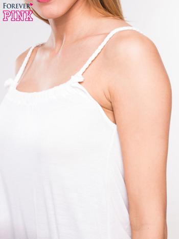 Szara sukienka na ramiączka z efektem ombre                                  zdj.                                  6