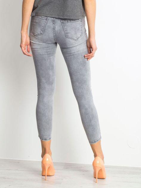 Szare jeansy Chambray                              zdj.                              2