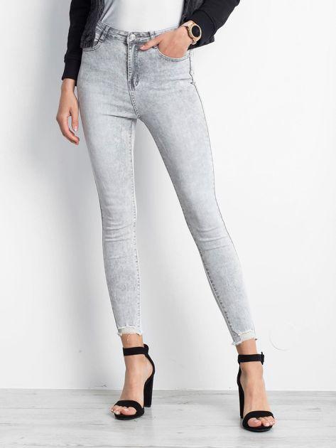 Szare jeansy Excavating                              zdj.                              1
