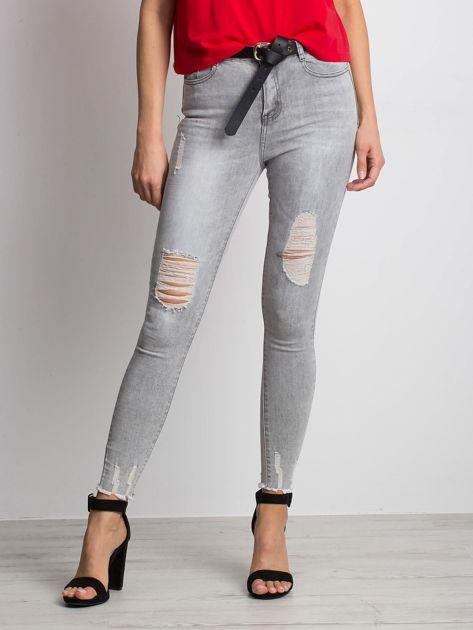 Szare jeansy Formula                              zdj.                              1