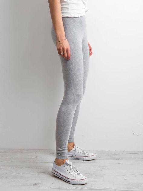 Szare legginsy Basic                              zdj.                              3