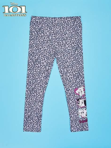 Szare legginsy dla dziewczynki 101 DALMATYŃCZYKÓW