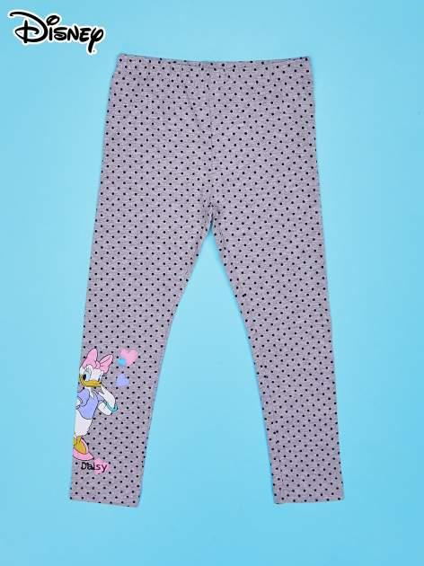 Szare legginsy w groszki dla dziewczynki DAISY