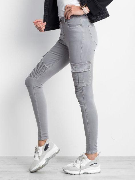 Szare spodnie Hello                              zdj.                              2