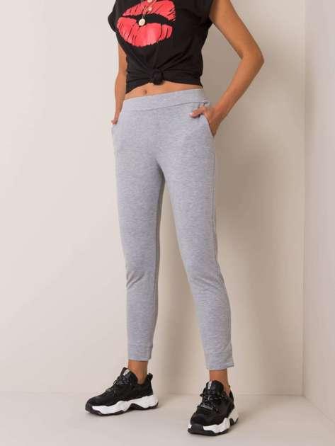 Szare spodnie Nina