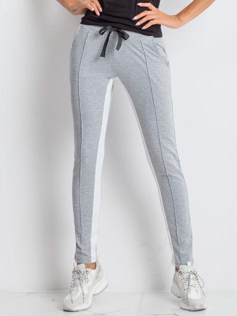 Szare spodnie dresowe Defined                              zdj.                              1
