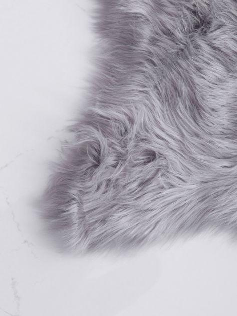 Szary dywanik shaggy                              zdj.                              2