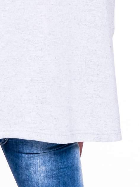 Szary klasyczny sweterek                                  zdj.                                  4
