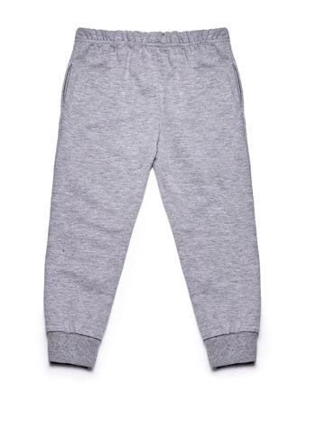 Szary komplet dla dziewczynki bluza i spodnie                              zdj.                              7