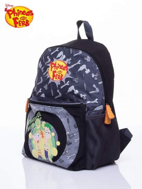 Szary plecak szkolny DISNEY Fineasz i Ferb                                  zdj.                                  2