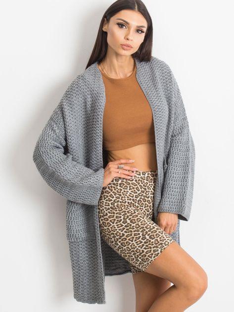 Szary sweter Luna                              zdj.                              1