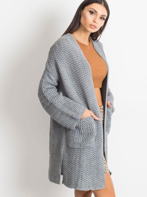 Szary sweter Luna                              zdj.                              3
