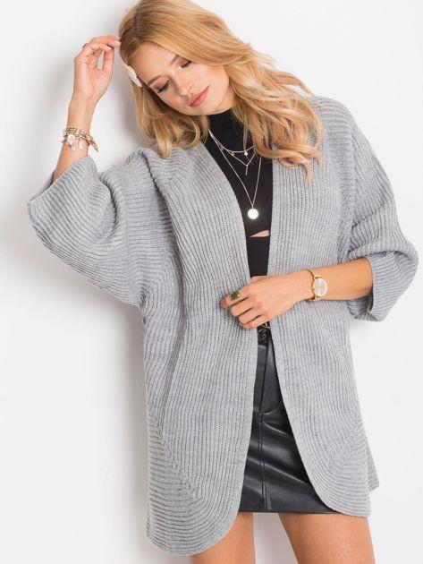 Szary sweter Spotlight                              zdj.                              5