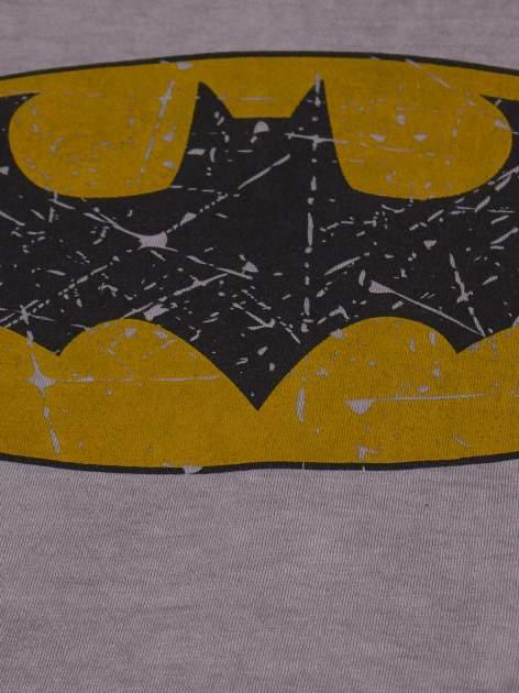 Szary t-shirt chłopięcy BATMAN                                  zdj.                                  3