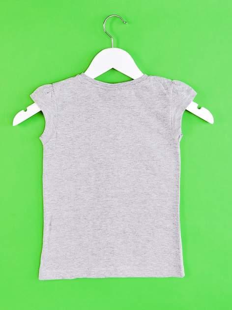 Szary t-shirt dla dziewczynki EQUESTRIA GIRLS                                  zdj.                                  2