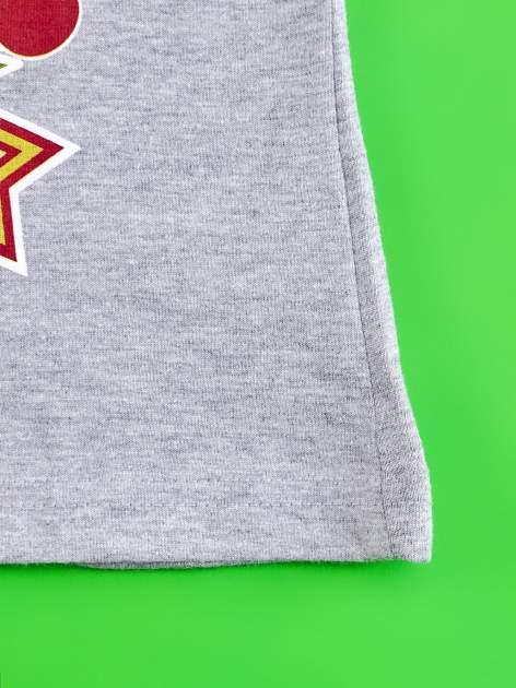 Szary t-shirt dla dziewczynki EQUESTRIA GIRLS                                  zdj.                                  5