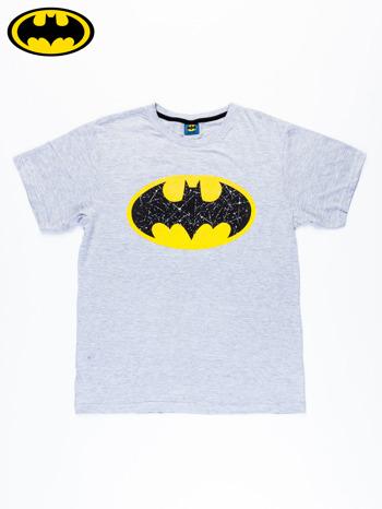 Szary t-shirt męski BATMAN                                  zdj.                                  6