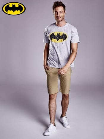 Szary t-shirt męski BATMAN                                  zdj.                                  2