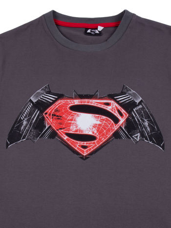 Szary t-shirt męski BATMAN V SUPERMAN                                  zdj.                                  11