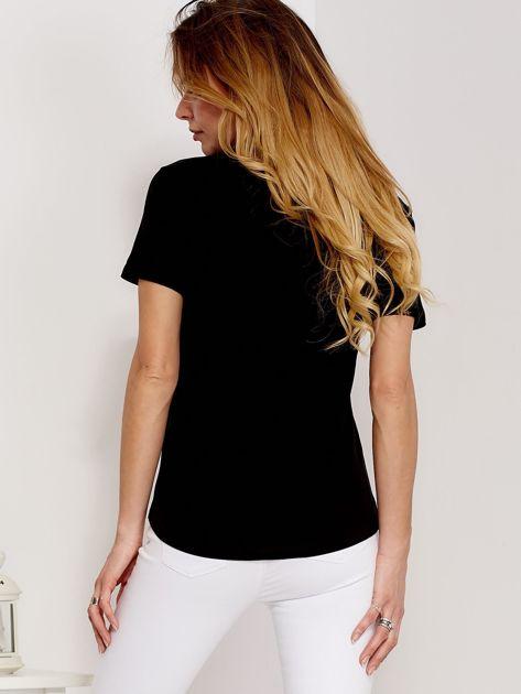 T-shirt czarny GIRL PRIDE                               zdj.                              2