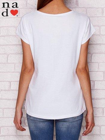 T-shirt z napisem SŁODKA WARIATKA biały