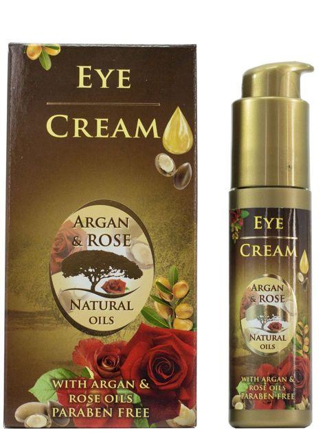 THE ROSE Krem do okolic oczu z olejkami arganowym i różanym Argan&Rose 35 ml