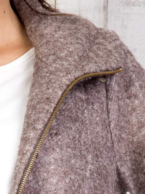 TOM TAILOR Brązowy dwuczęściowy płaszcz z kurtką pikowaną                                  zdj.                                  19