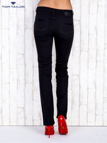 TOM TAILOR Czarne proste spodnie                                  zdj.                                  3