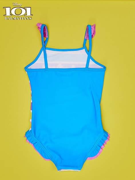 Turkusowy strój kąpielowy dla dziewczynki 101 DALMATYŃCZYKÓW                                  zdj.                                  2