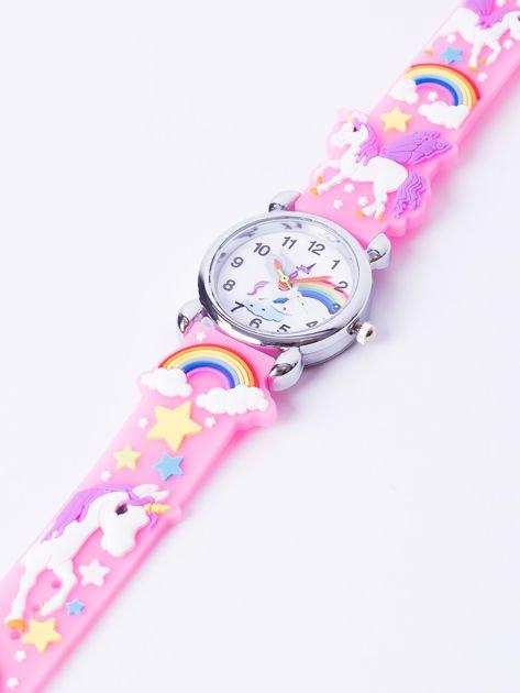 UNICORN Jasnoróżowy Dziecięcy Zegarek JEDNOROŻEC