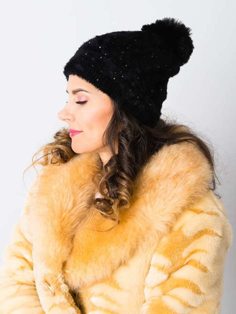 V&T Winter Fashion Szara Ocieplana Czapka Męska                              zdj.                              1