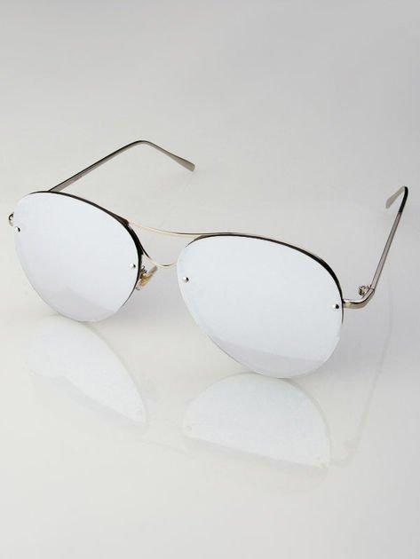 VICS Okulary przeciwsłoneczne lustrzanki+ miękkie etui gratis                              zdj.                              2