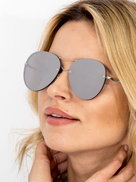 VICS Okulary przeciwsłoneczne lustrzanki+ miękkie etui gratis                              zdj.                              1