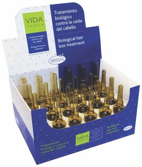VIDA SHOCK Profesjonalne ampułki przeciw wypadaniu włosów biologiczna kuracja 24x10ml                              zdj.                              1