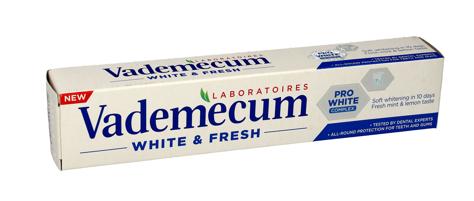 """Vademecum  Pasta do zębów White & Fresh  75ml"""""""