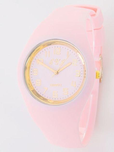 JELLY jasno różowy zegarek damski                                   zdj.                                  1