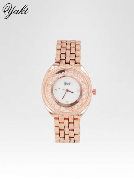 Zegarek damski na bransolecie z różowego złota                                  zdj.                                  1