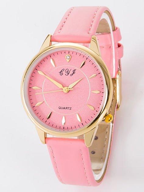 Zegarek damski różowy                              zdj.                              1