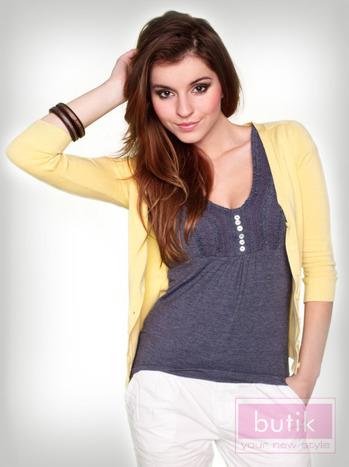 Zestaw sweter + bluzka