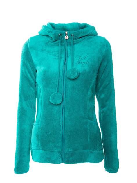 Zielona bluza miś z kapturem z uszkami i pomponami                                  zdj.                                  1