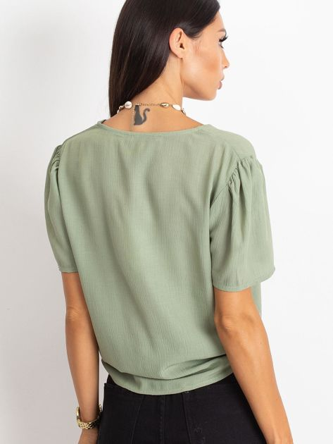 Zielona bluzka Paradise                              zdj.                              2