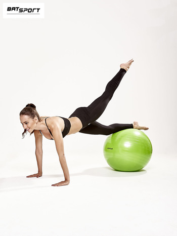 Zielona duża piłka fitness                                  zdj.                                  8