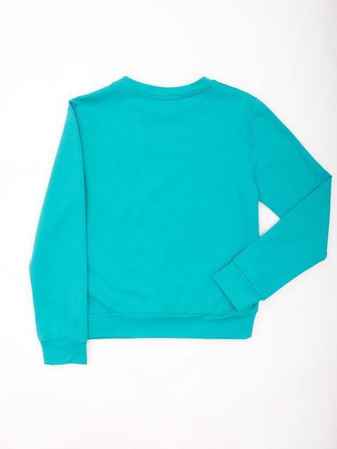 Zielona bluza młodzieżowa                              zdj.                              2