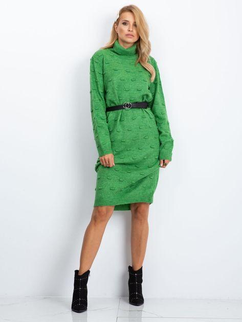 Zielona sukienka Silky                              zdj.                              1