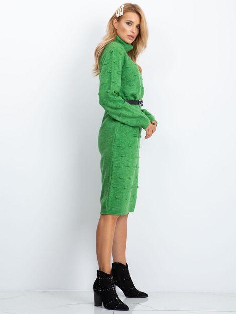 Zielona sukienka Silky                              zdj.                              3