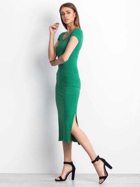 Zielona sukienka Touching                              zdj.                              3