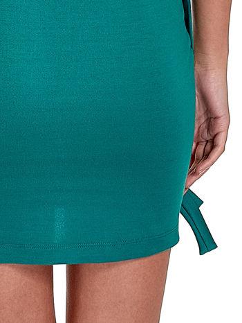 Zielona sukienka z kokardkami                                  zdj.                                  8