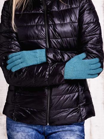 Zielone rękawiczki do obsługi ekranów dotykowych                                  zdj.                                  2