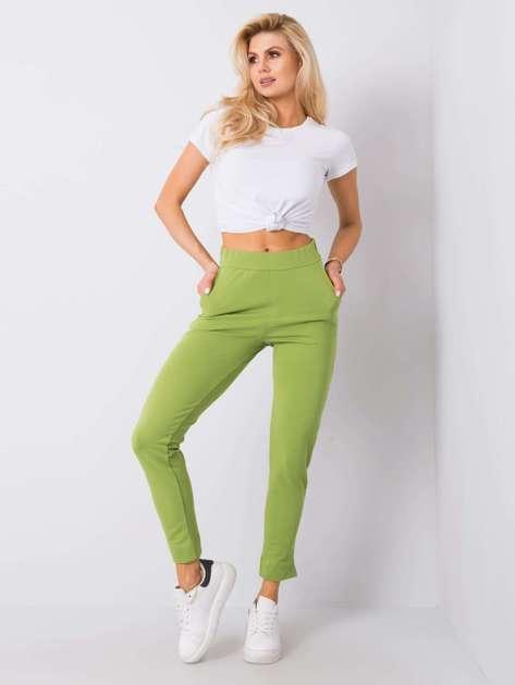 Zielone spodnie Nina